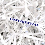 Destruction confidentielle des documents confiers
